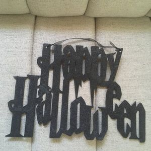 happy  Halloween  hanging decorations $6 Condition